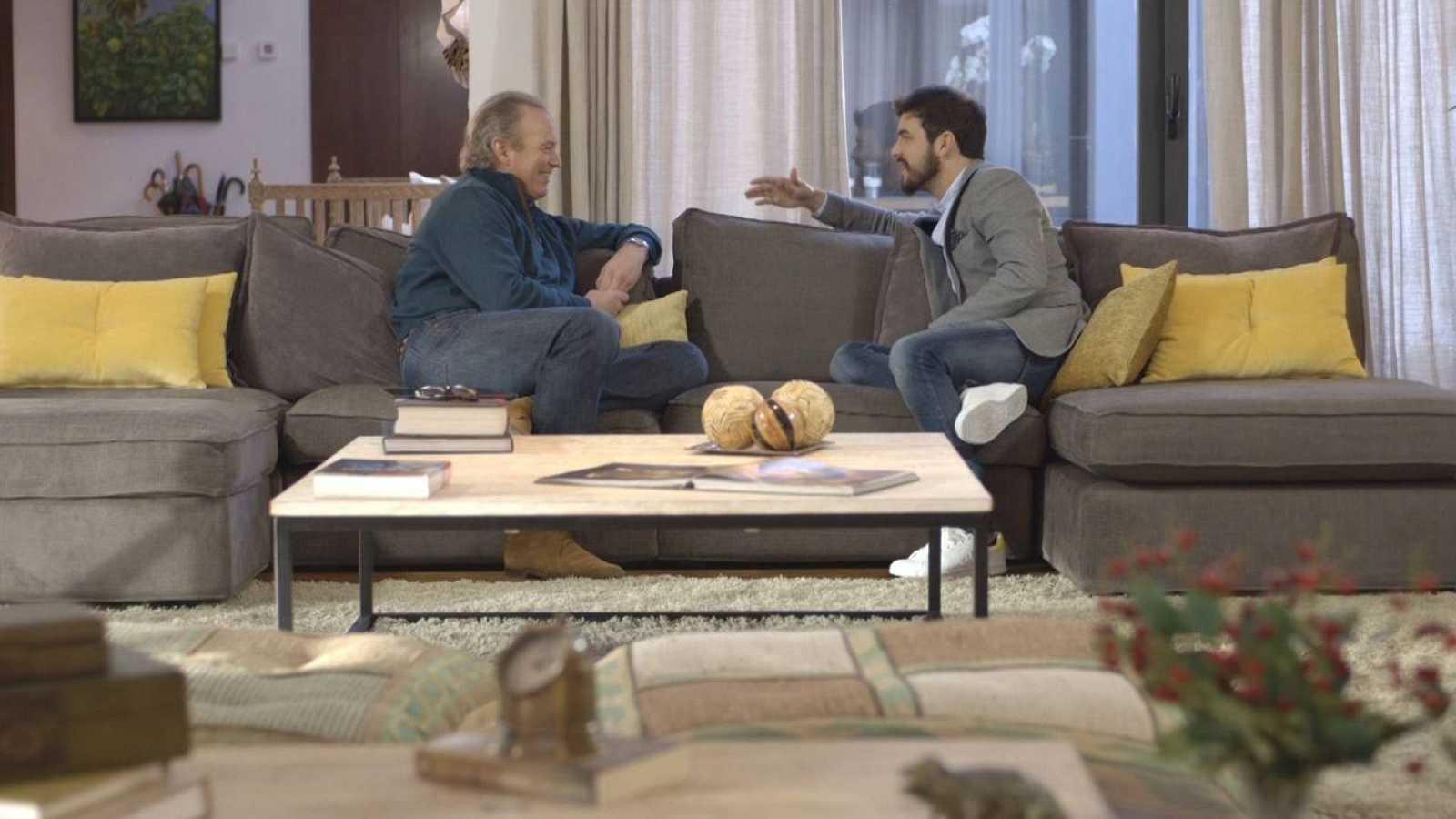 Mario Casas con Bertín Osborne