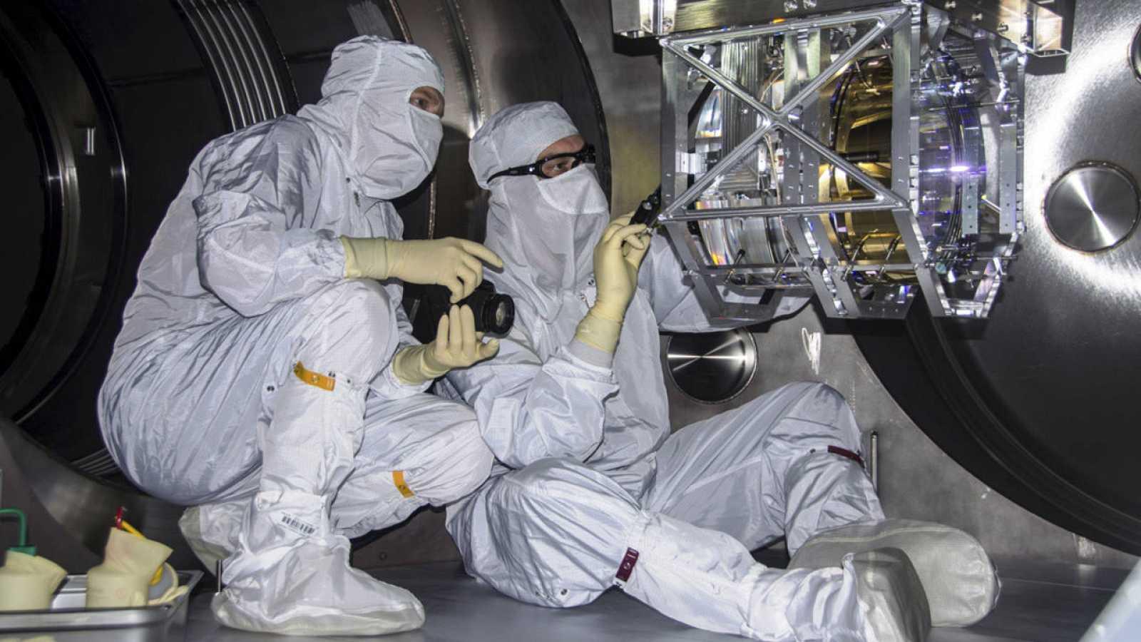 Imagen de archivo del Observatorio estadounidense de interferometría láser (LIGO).