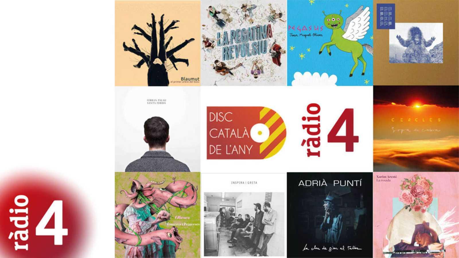Finalistes Disc Català de l'Any 2015 per Ràdio 4