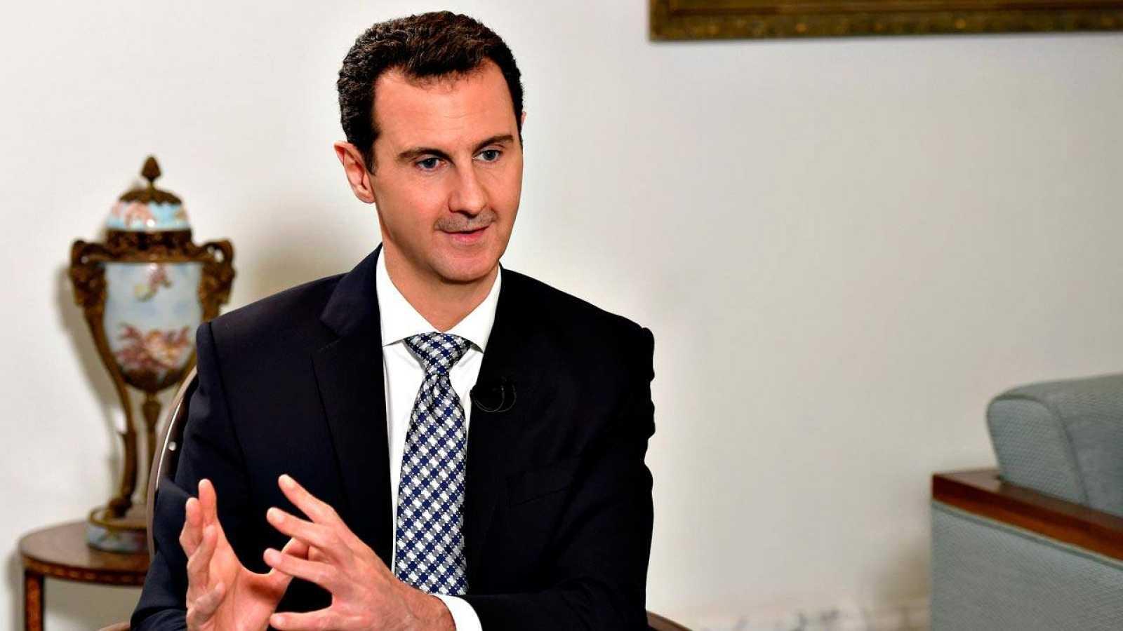 El presidente de Siria, Bachar al Asad, en una entrevista reciente