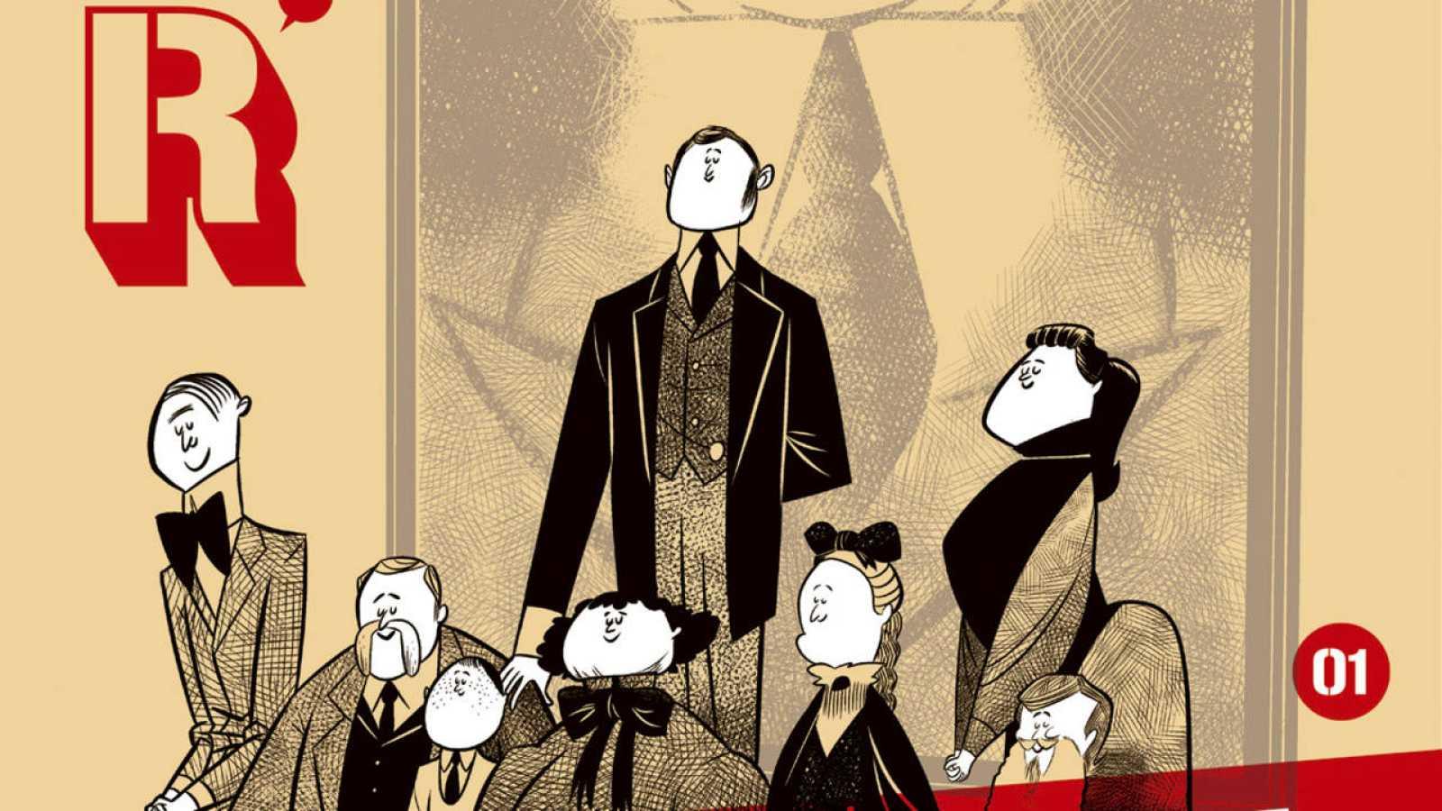 Fragmento de la portada de 'La Resistencia', de José Luis Ágreda