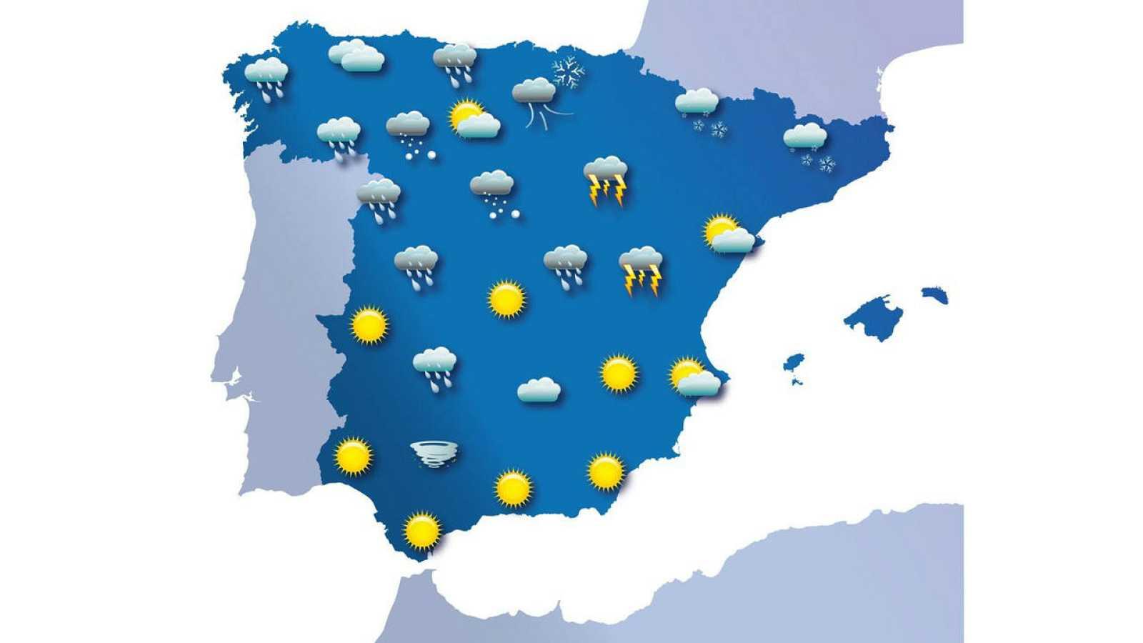 El tiempo en Ferrol