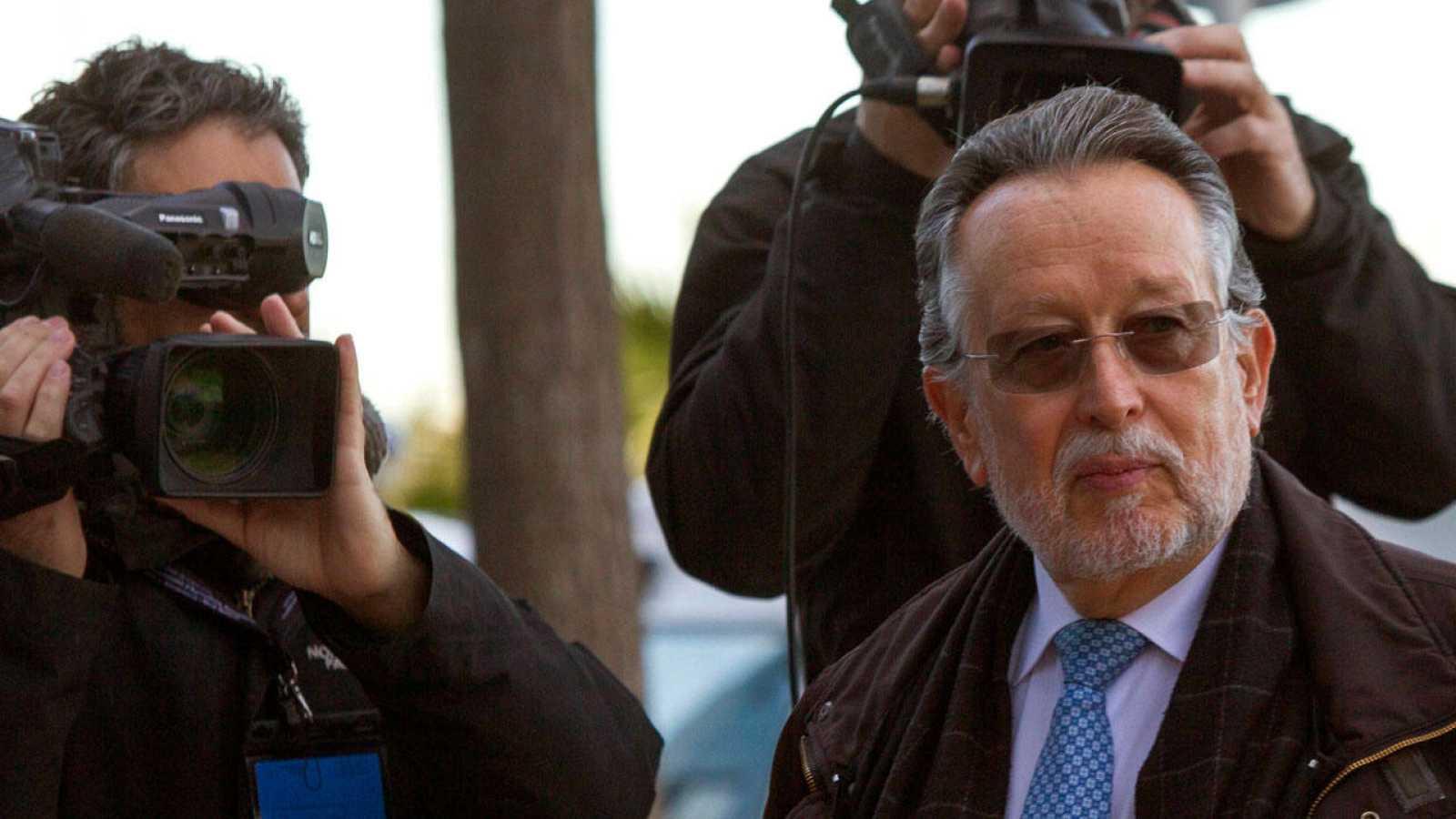 El vicealcalde de Valencia Alfonso Grau, a su llegada al juicio de Nóos en una foto de archivo