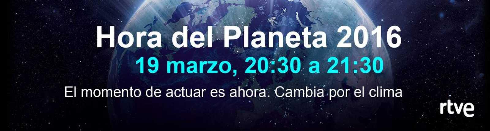 RTVE es medio oficial en España de 'La Hora del Planeta'