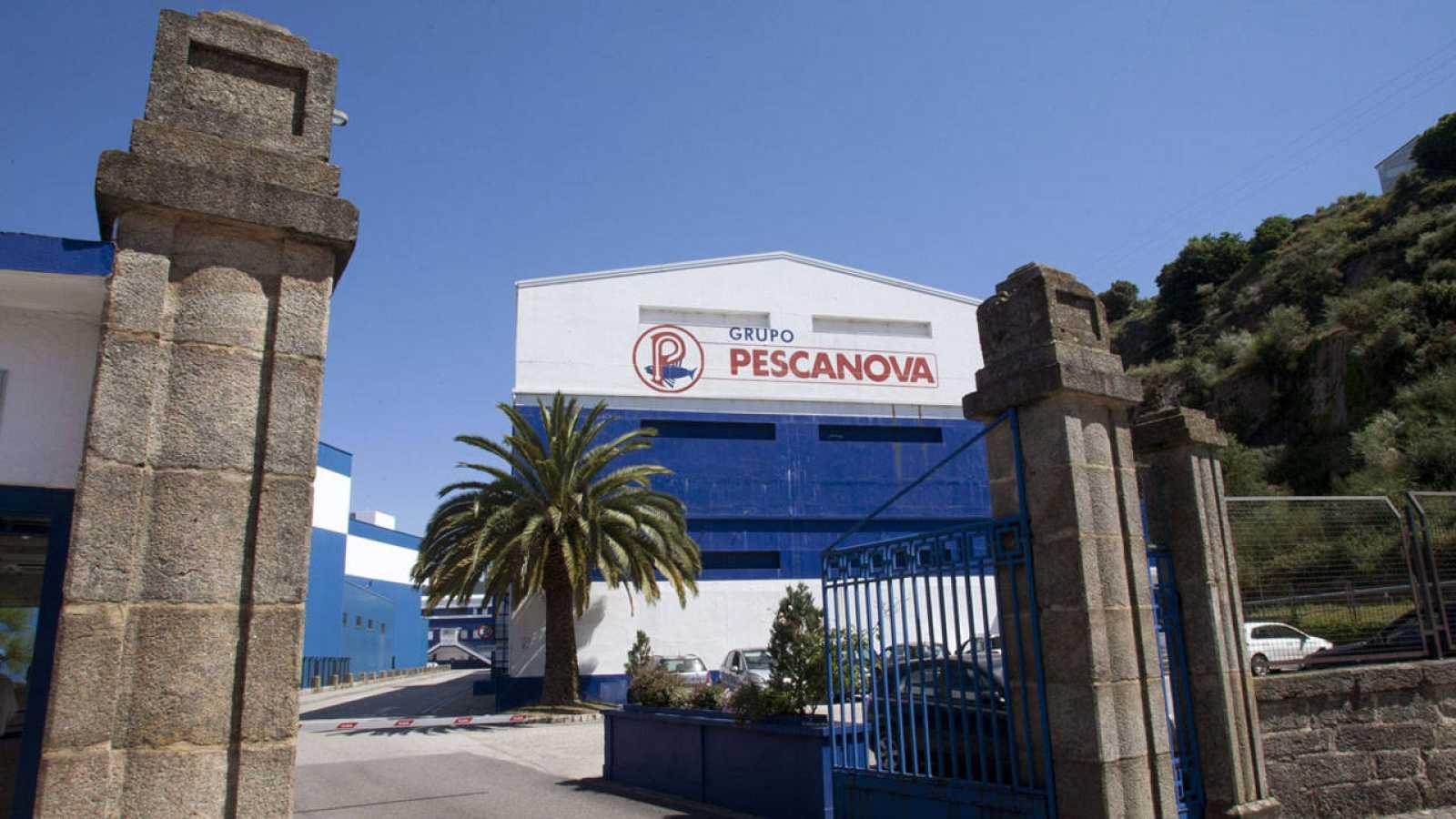 Sede de Pescanova en la localidad pontevedresa de Redondela