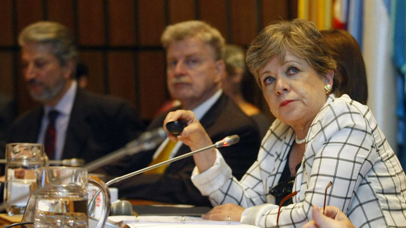La secretaria ejecutiva de la Comisión Económica para América Latina y el Caribe (CEPAL), Alicia Barcena.