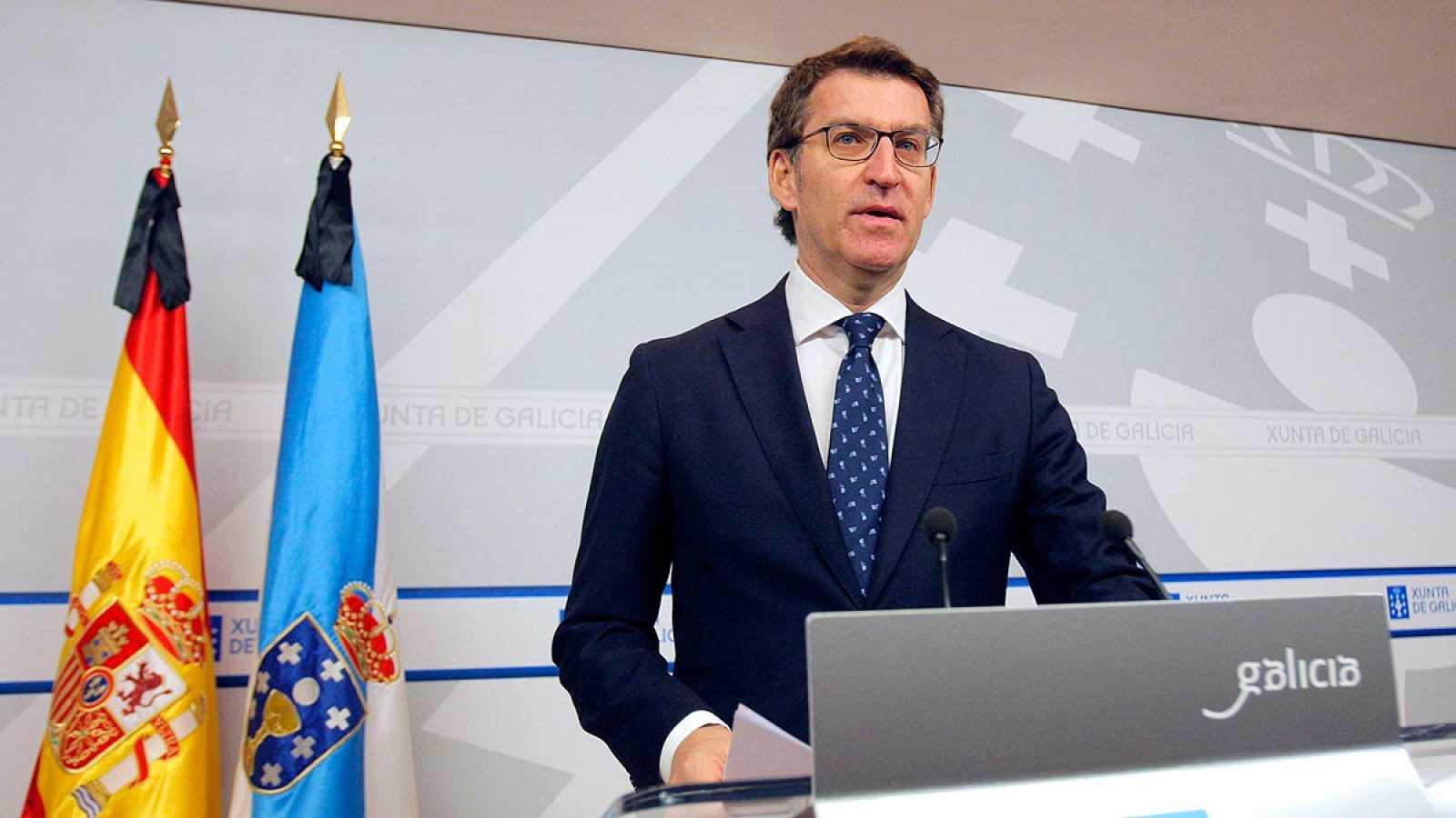 Nuñez Feijóo anuncia que optará a la reelección para un tercer mandato en Galicia