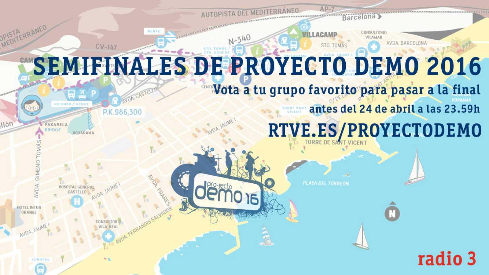 proyecto demo 2016 semifinalistas vota radio3 capitan demo