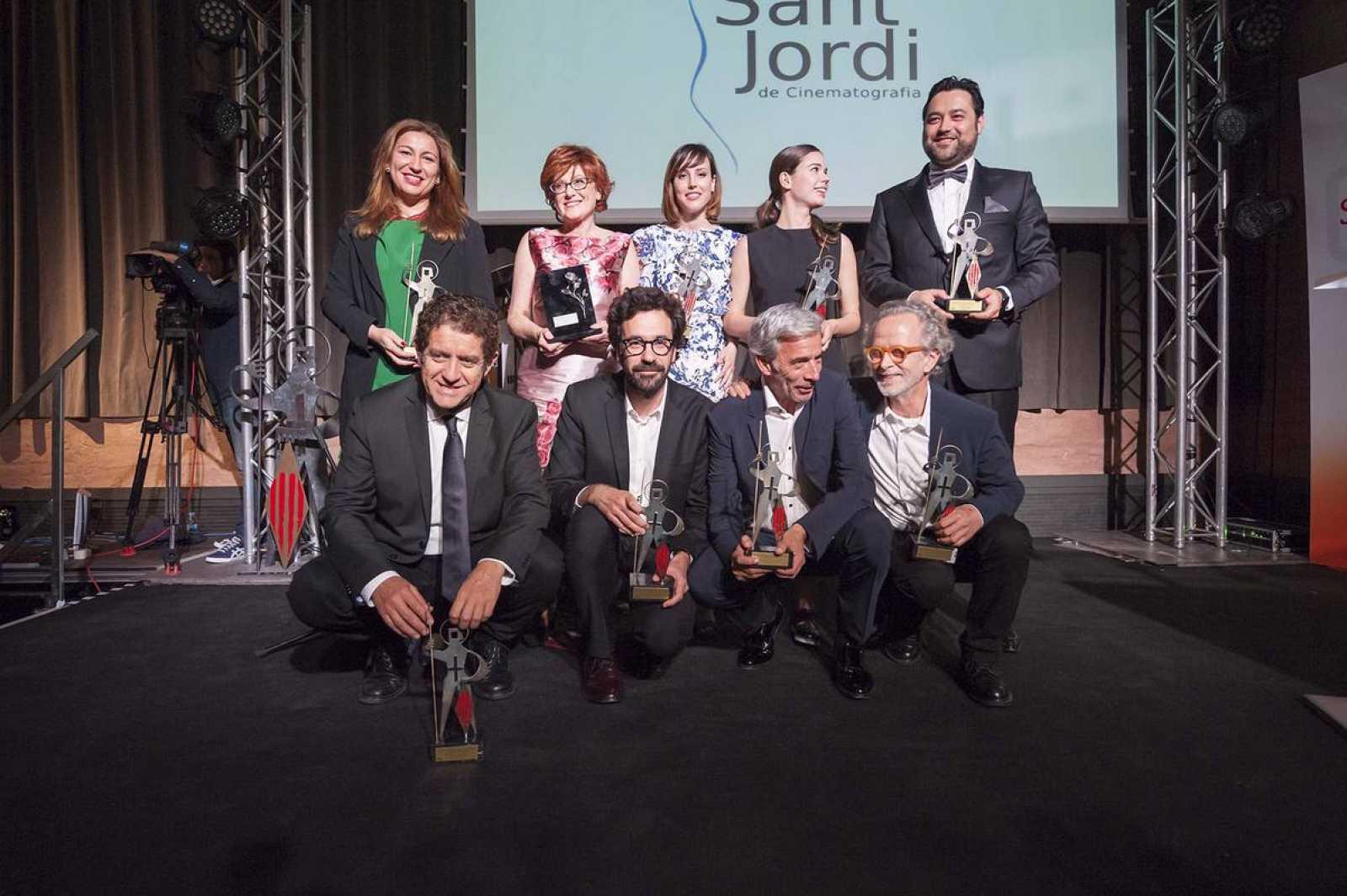 Los galardonados en la 60ª edición de los Premios Sant Jordi de Cinematografía