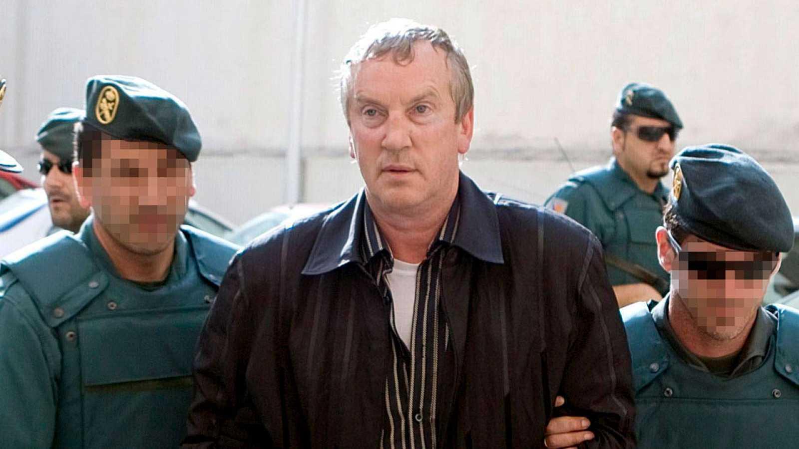 Imagen de archivo de la detención en 2008 de Gennadios Petrov