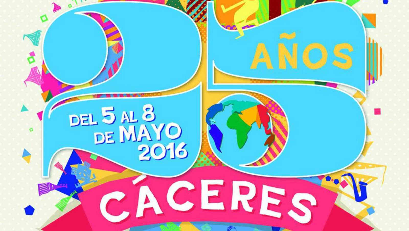 Este domingo celebramos 25 años de Womad Cáceres