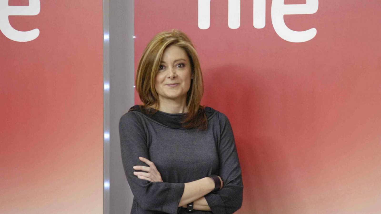 Pepa Fernández, presentadora de 'No es un día cualquiera'.