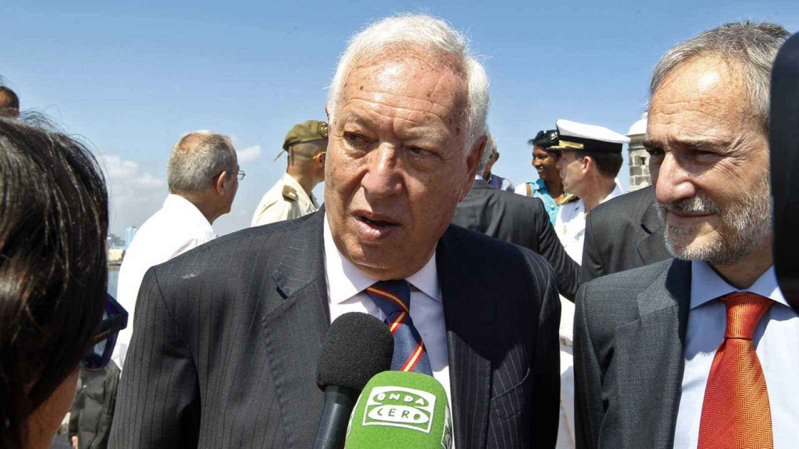 El ministro de Asuntos Exteriores en funciones, José Manuel García Margallo