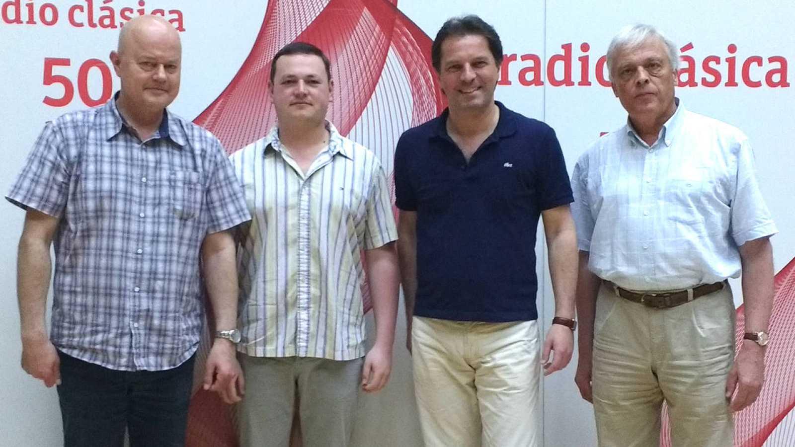 El cuarteto de Gewandhaus de Leipzing visita 'La dársena'