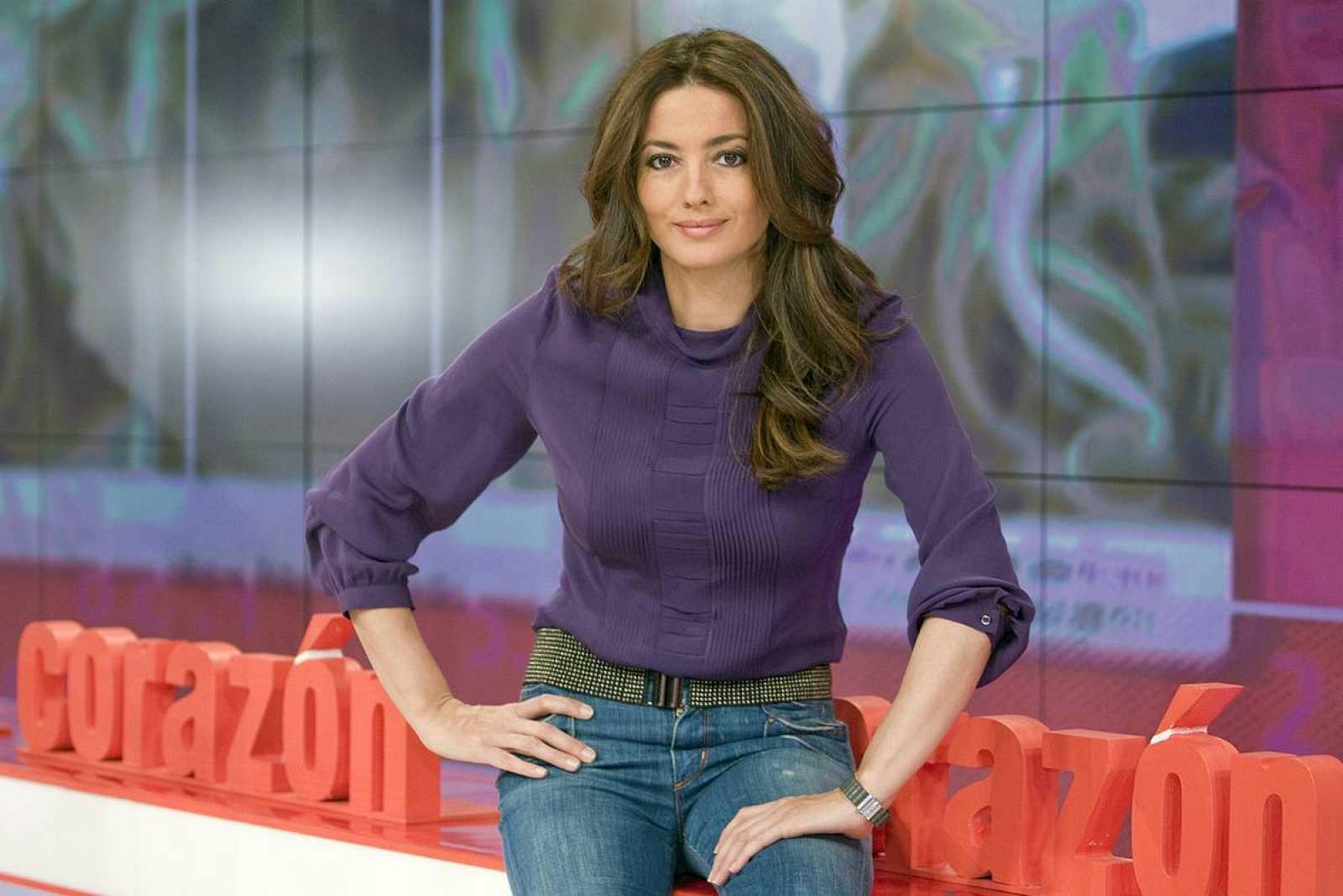 La presentadora Jose Toledo