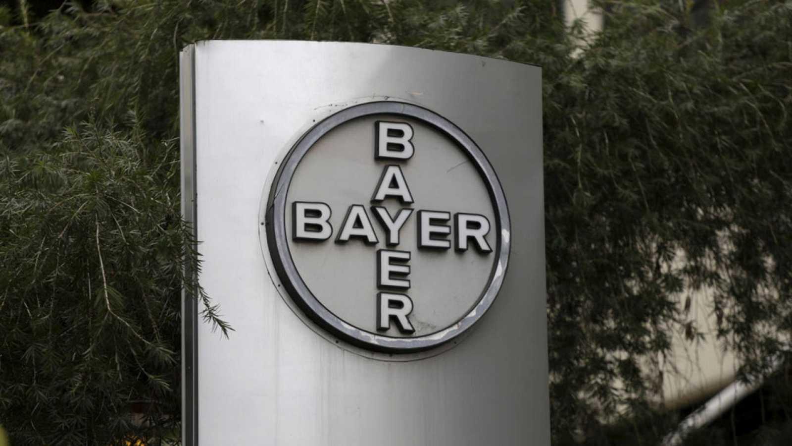 Logo de la farmacéutica alemana Bayer
