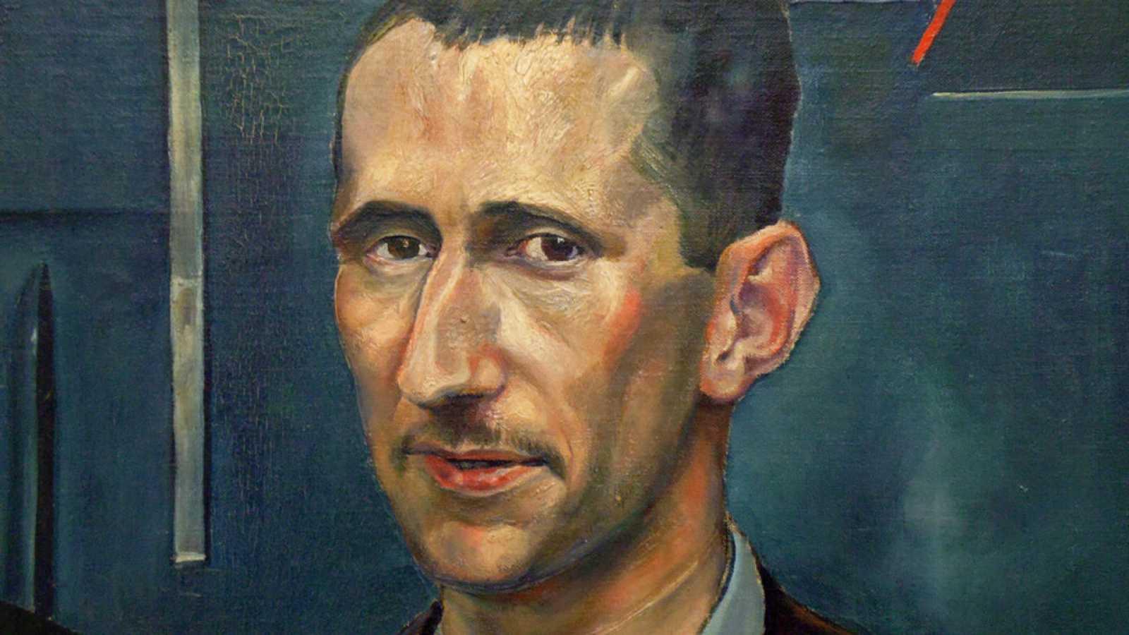 El poeta alemán Bertolt Brecht