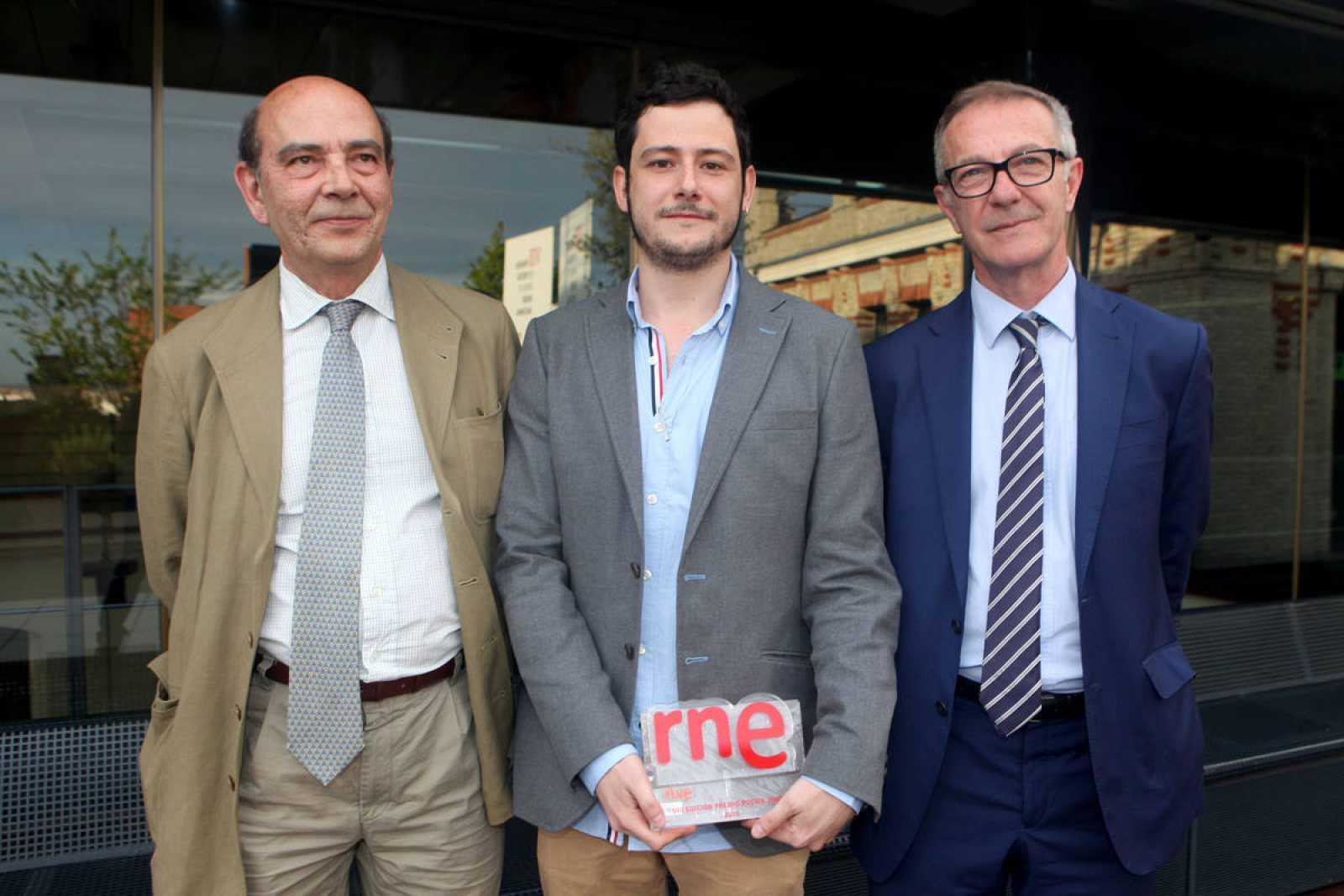 Alfonso Nasarre, Javier Hernando Herráez y José Guirao