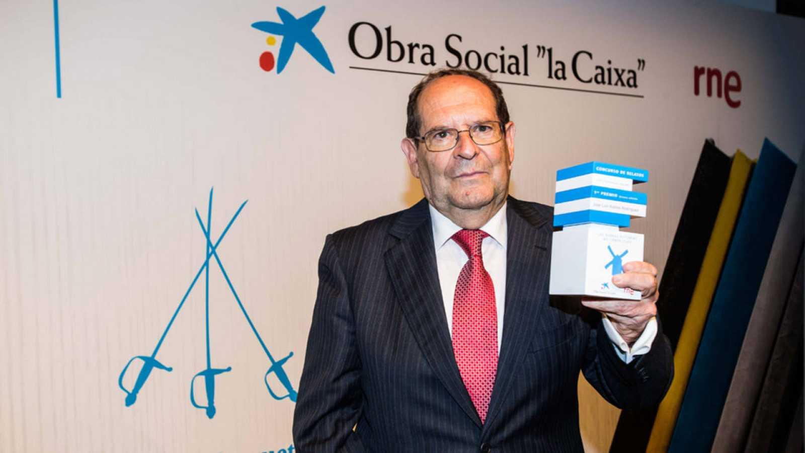 José Luis Robles, ganador del VIII Concurso de Relatos Escritos por Personas Mayores.
