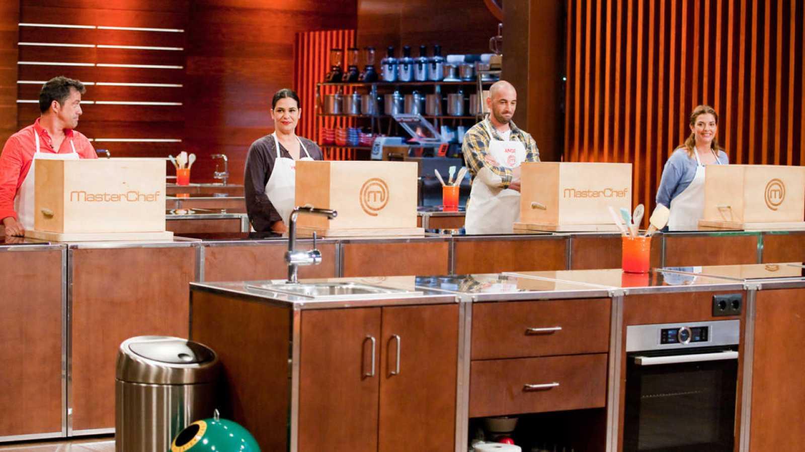 José Luis, Virginia, Ángel y Rocío son los cuatro finalista de MasterChef 4