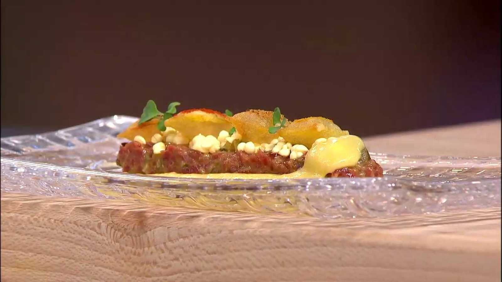 Receta de steak tartare, por Joan Roca