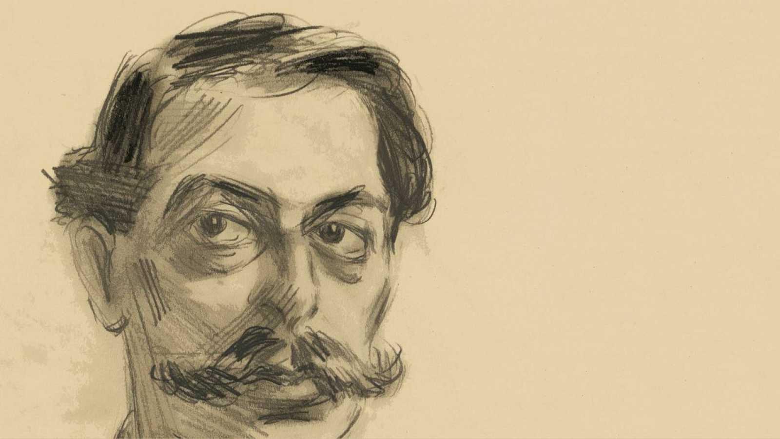 El compositor Enrique Granados por el dibujante David Santsalvador