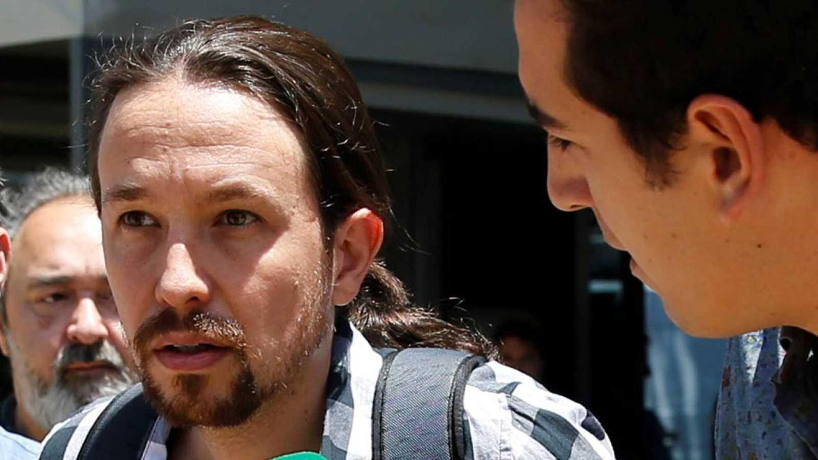 Pablo Iglesias es el secretario general de Podemos.