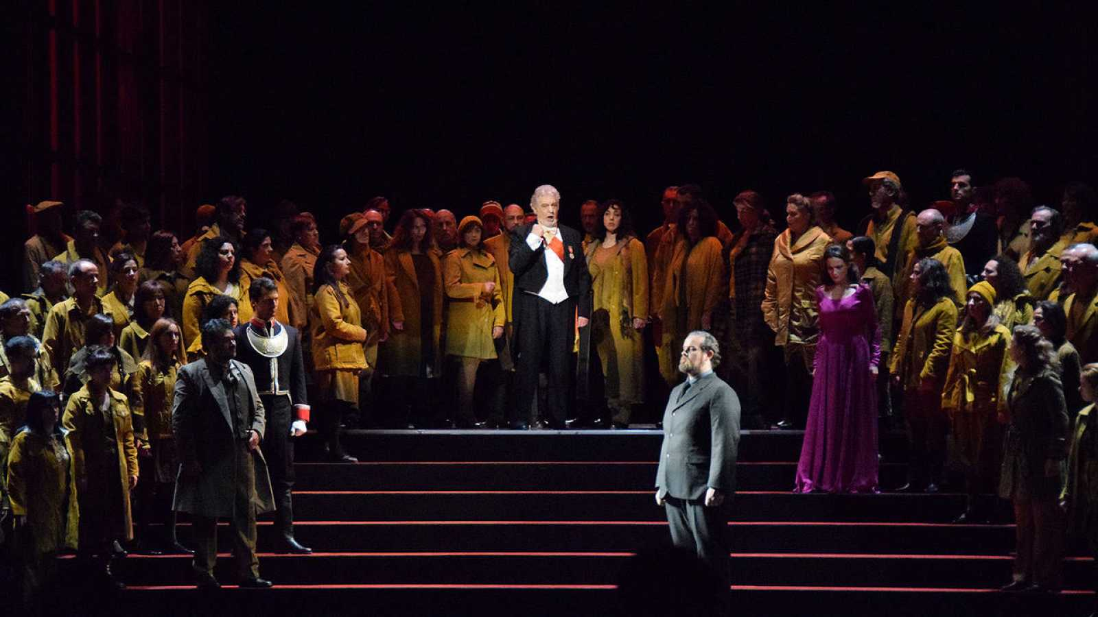 Plácido Domingo en 'Simon Boccanegra'