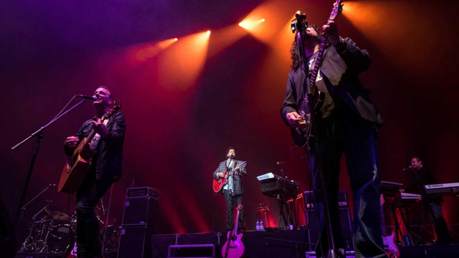 Imagen de archivo de un concierto de la banda The Alan Parsons Project, en Las Palmas de Gran Canaria el pasado 20 de abril.