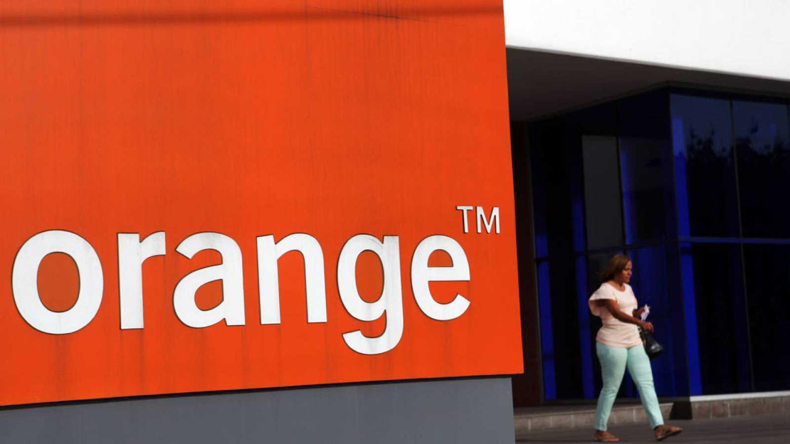 Logotipo de la empresa Orange