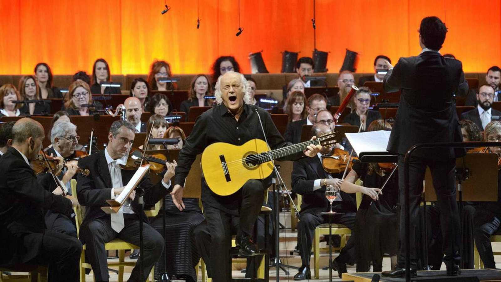 La orquesta de RTVE y Amancio Prada