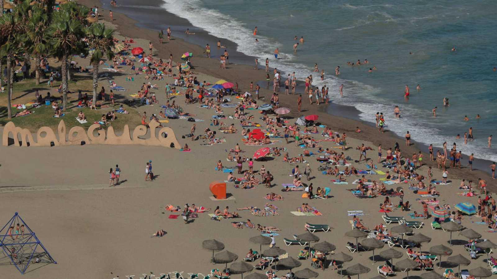 La playa de la Malagueta