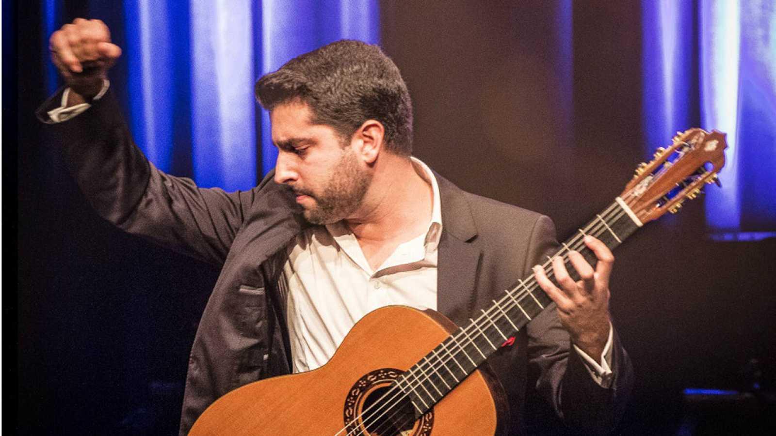 El guitarrista malaguello Rafael Aguirre