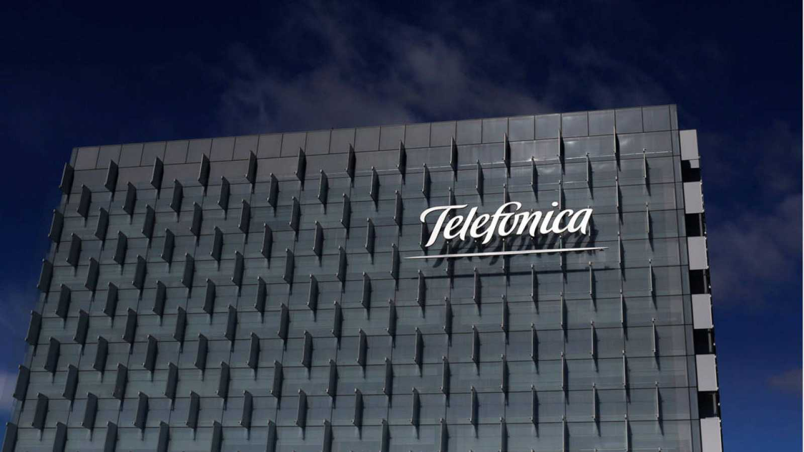 Edificio corporativo de Telefónica en Madrid