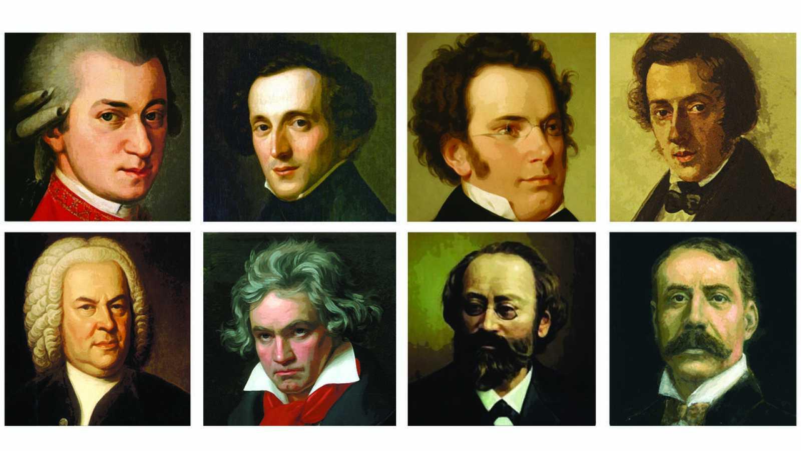 Compositores y sus obras más conocidas