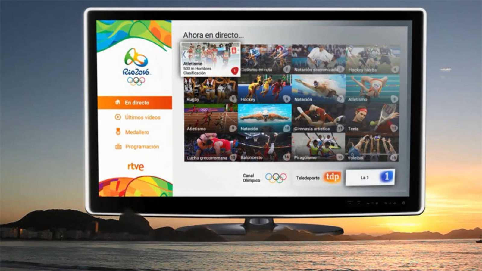 RTVE.es ofreció por primera vez los Juegos en multiseñal a través de Botón Rojo