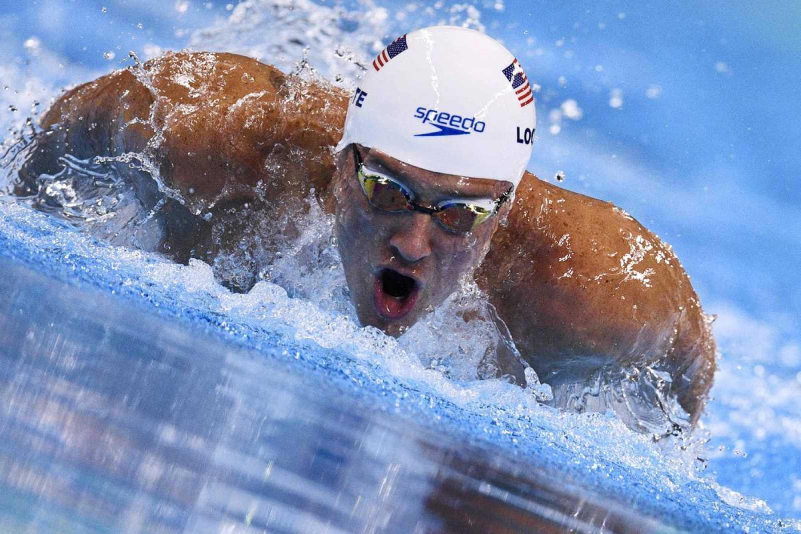 Imagen de Ryan Lochte durante los JJOO de Río 2016.