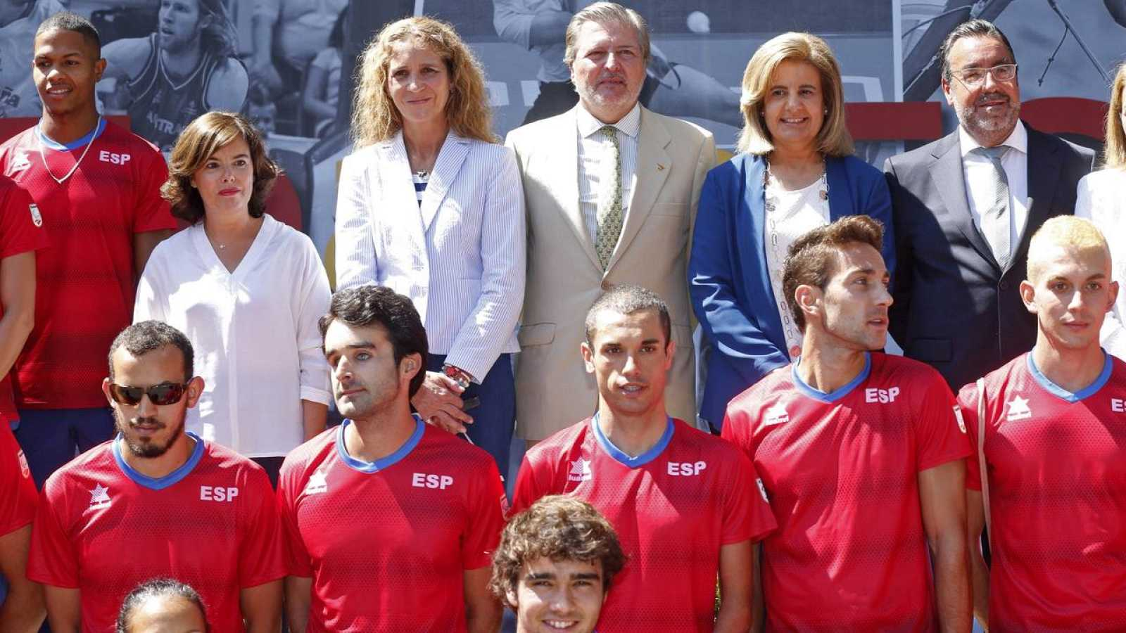 El equipo paralímpico español espera superar las 42 medallas de Londres 2012
