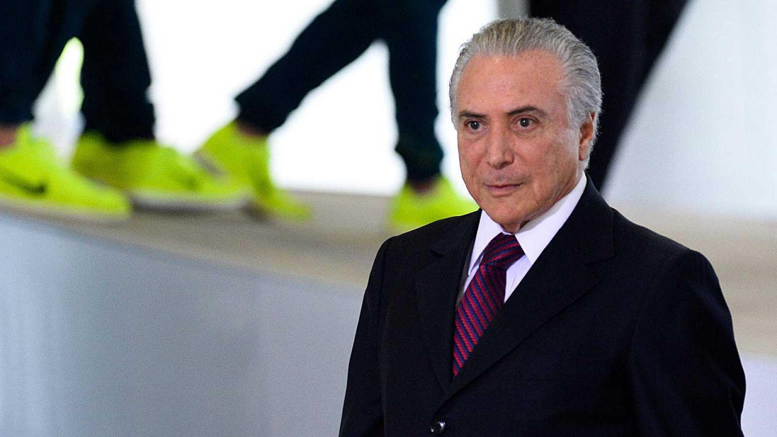 El presidente brasileño, Michel Temer, asume el cargo hasta el 1 de enero de 2019.