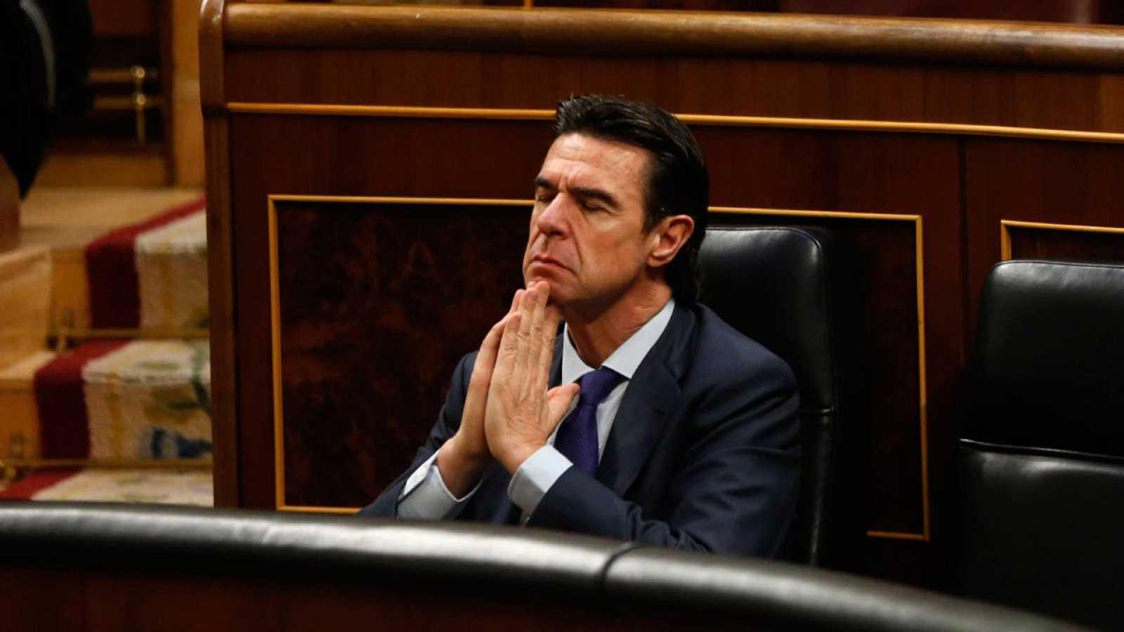 Imagen de archivo de José Manuel Soria en el Congreso de los Diputados