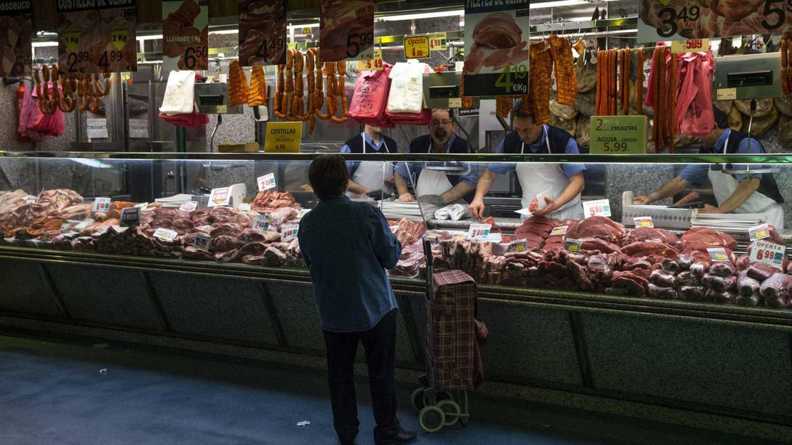 Mercado minorista en Madrid (archivo Efe)