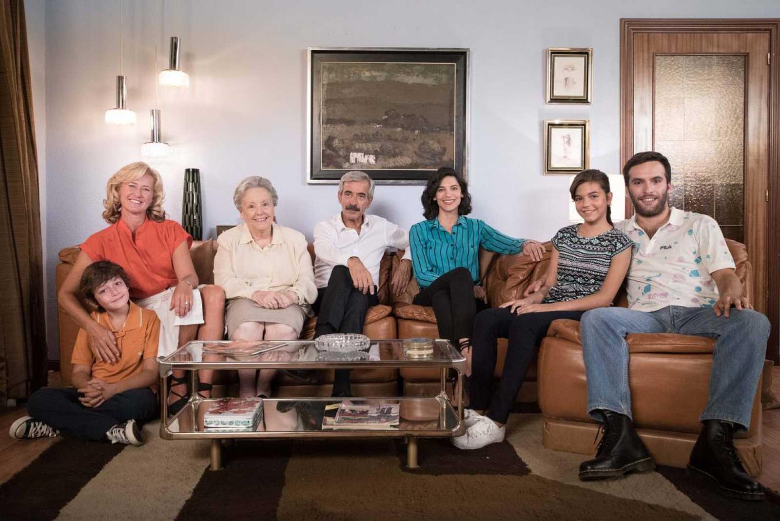 La familia Alcántara cumple 15 años en TVE