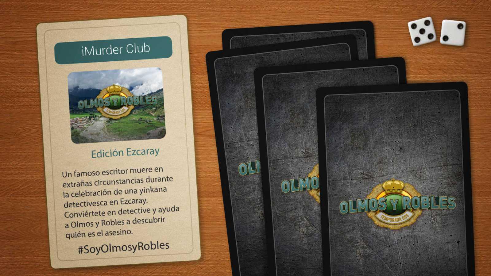 Juega al iMurder Club de Olmos y Robles