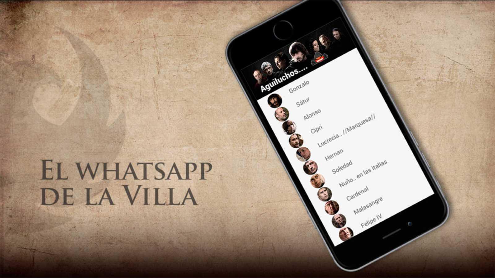 Águila Roja - El WhatsApp de la Villa
