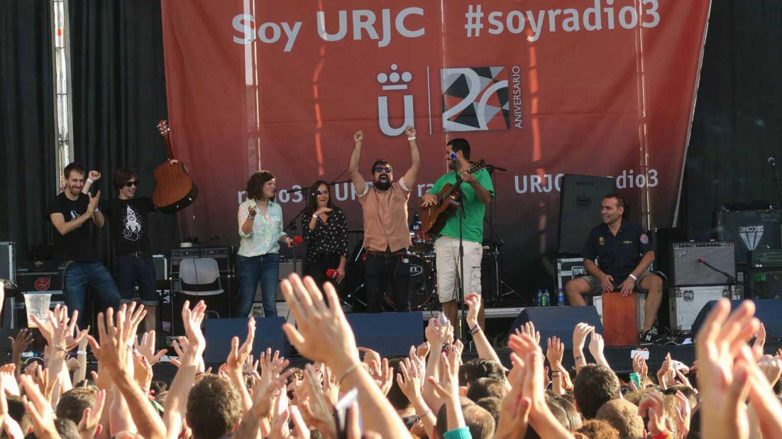 Celebramos el XX aniversario de la Universidad Rey Juan Carlos con una fiesta por todo lo alto