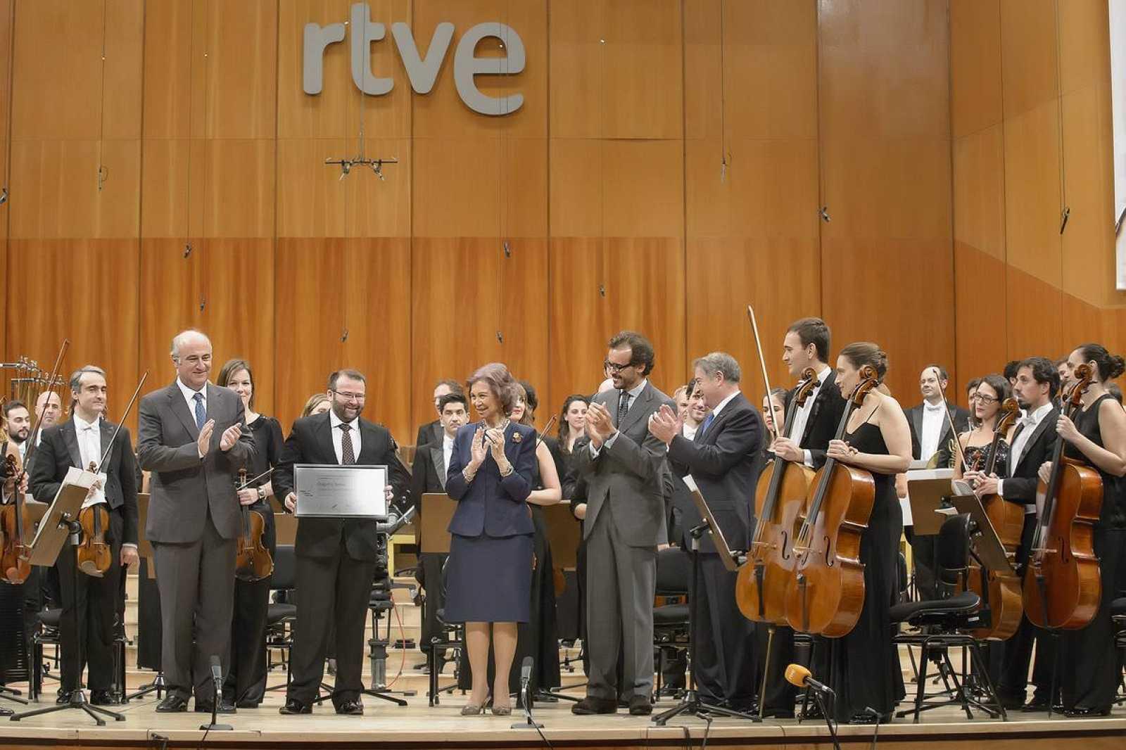 La Orquesta Sinfónica RTVE estrena 'Orografía sonora', obra ganadora del Premio Reina Sofía de Composición Musical