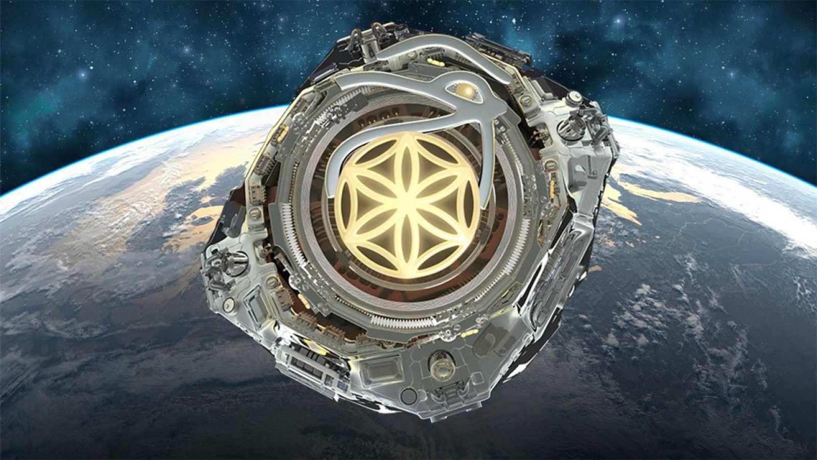 Ilustración del satélite del proyecto Asgardia difundido por la propia organización en su página web.