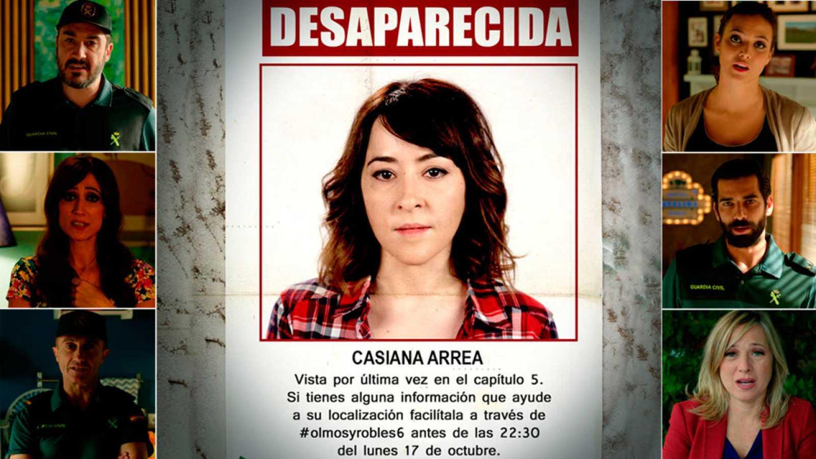 Llamamiento para encontrar a Casiana Arrea