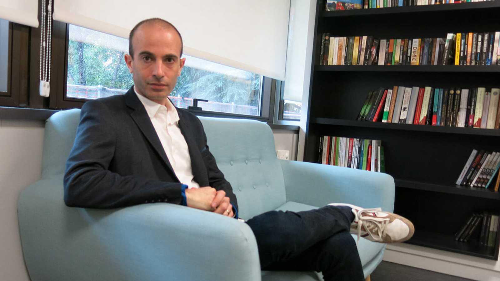 El historiador israelí Yuval Noah Harari.