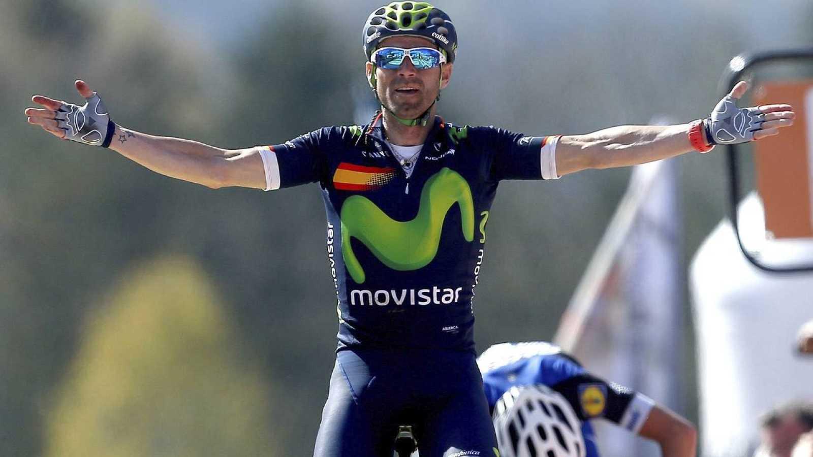 Valverde renueva con Movistar hasta 2019